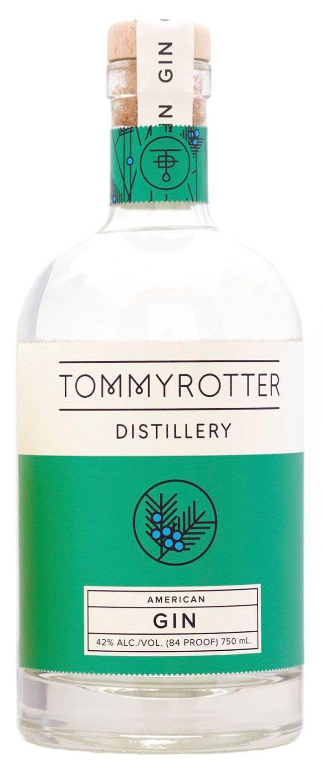 Plant De Menthe En Pot tommyrotter distillery gin 750ml