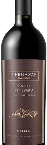 Terrazas De Los Andes Single Vineyard Las Compuertas Malbec 2007