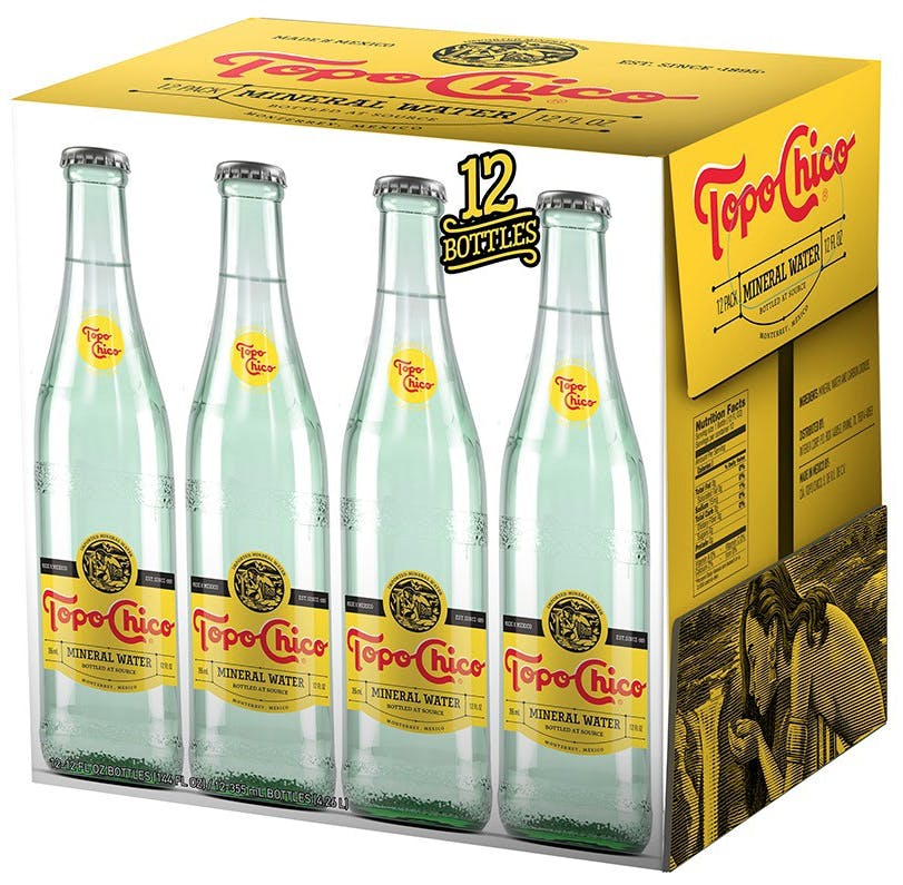 Topo Chico Mineral Water 12 oz. - Argonaut Wine & Liquor