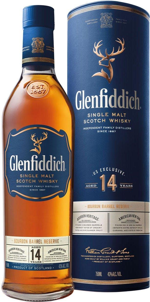 Glenfiddich Single Malt Scotch Whisky 14 Year Old
