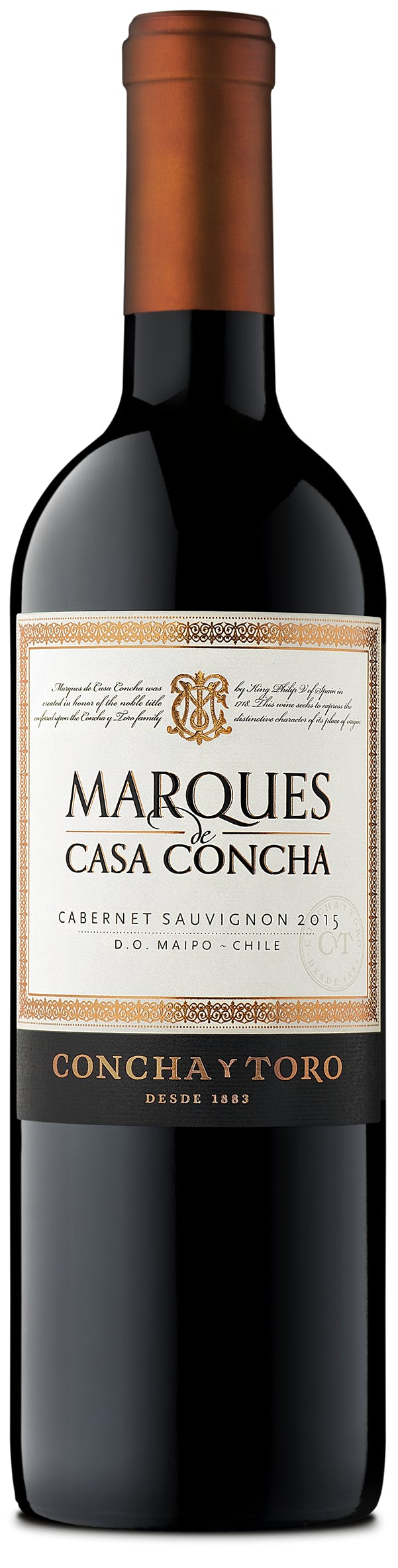Concha Y Toro Marques De Casa Cabernet Sauvignon 2016 Bottle
