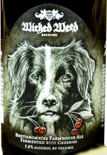 Wicked Weed Brewing Ferme De Chien 4 Pack 12 Oz Can