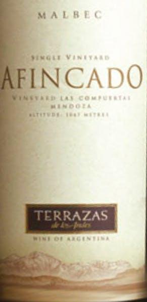 Terrazas De Los Andes Afincado Cabernet Sauvignon 2013