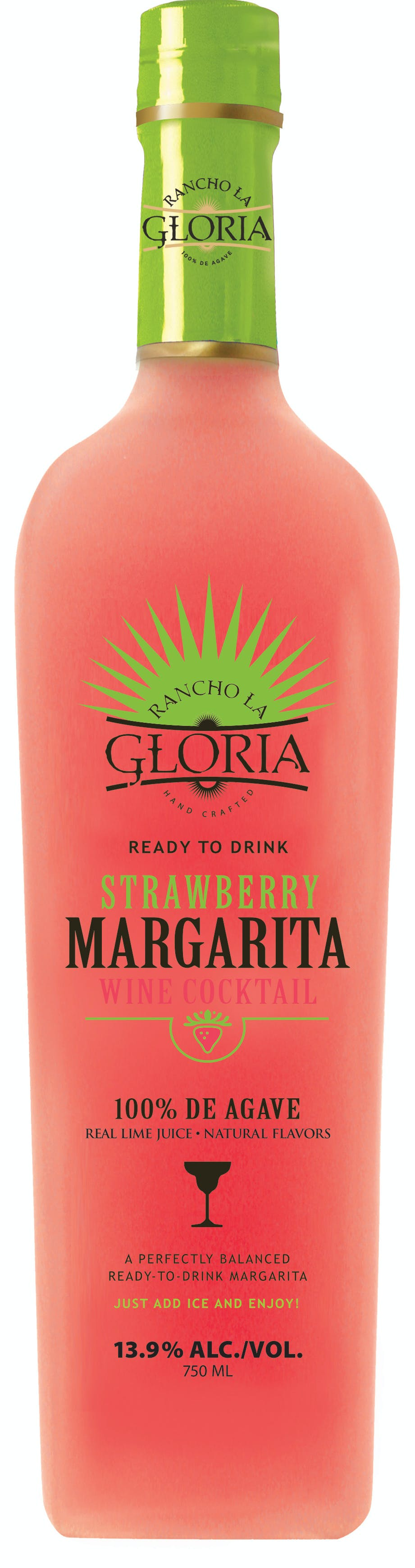 Rancho La Gloria Strawberry Margarita Argonaut Wine Liquor