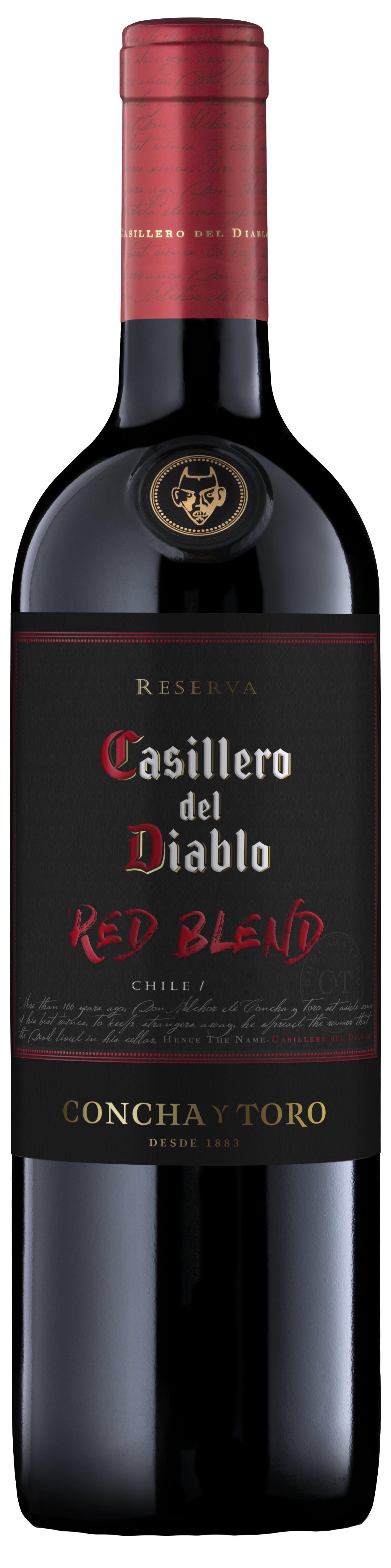 Concha Y Toro Casillero Del Diablo Red Blend 2017