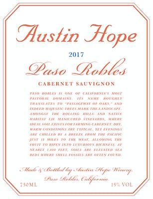 Austin Hope Cabernet Sauvignon 2017