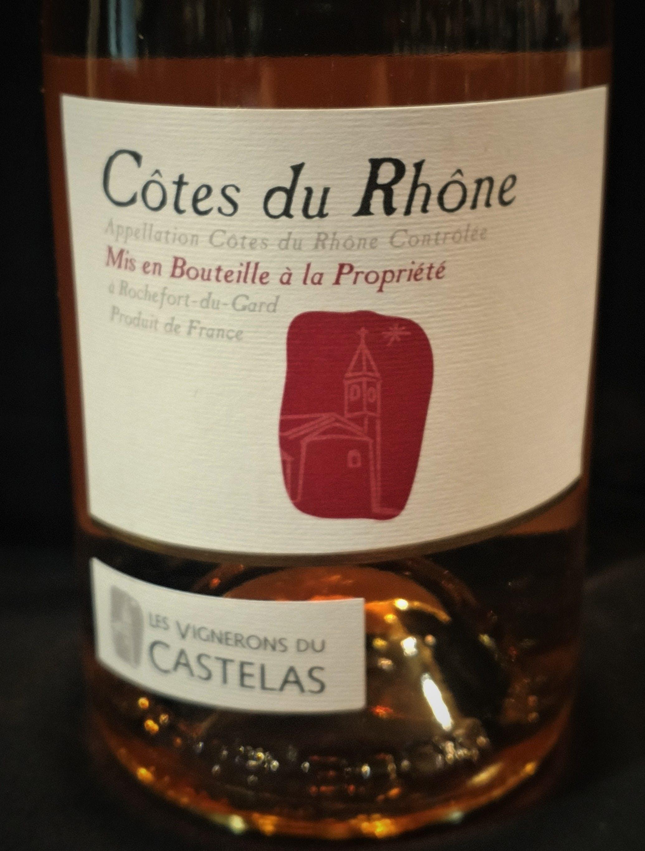 Les Vignerons Du Castelas Cotes Du Rhone Rose 2018 1 5l Stone Gate Wine Spirits