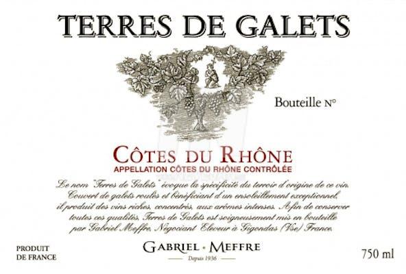 Gabriel Meffre Côtes du Rhône Terres de Galets 2017