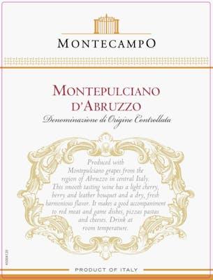Monte Campo Montepulciano d'Abruzzo 2018