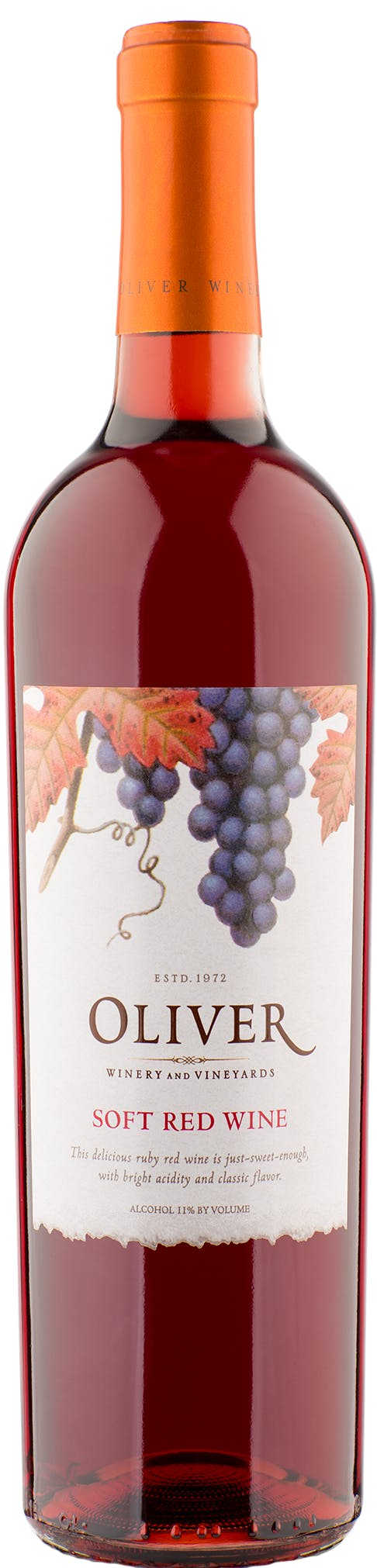Oliver Winery Soft Red Nv Buster S Liquors Wines