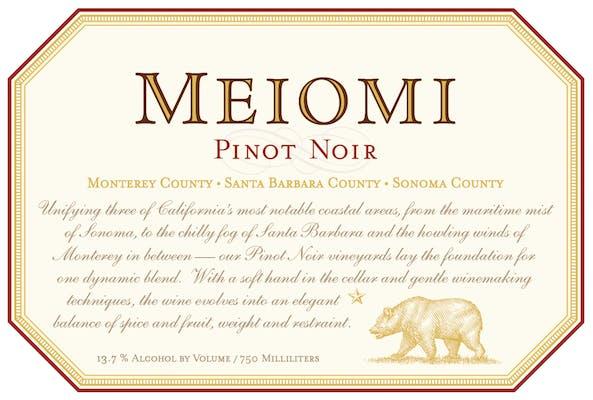 Meiomi Pinot Noir 2018