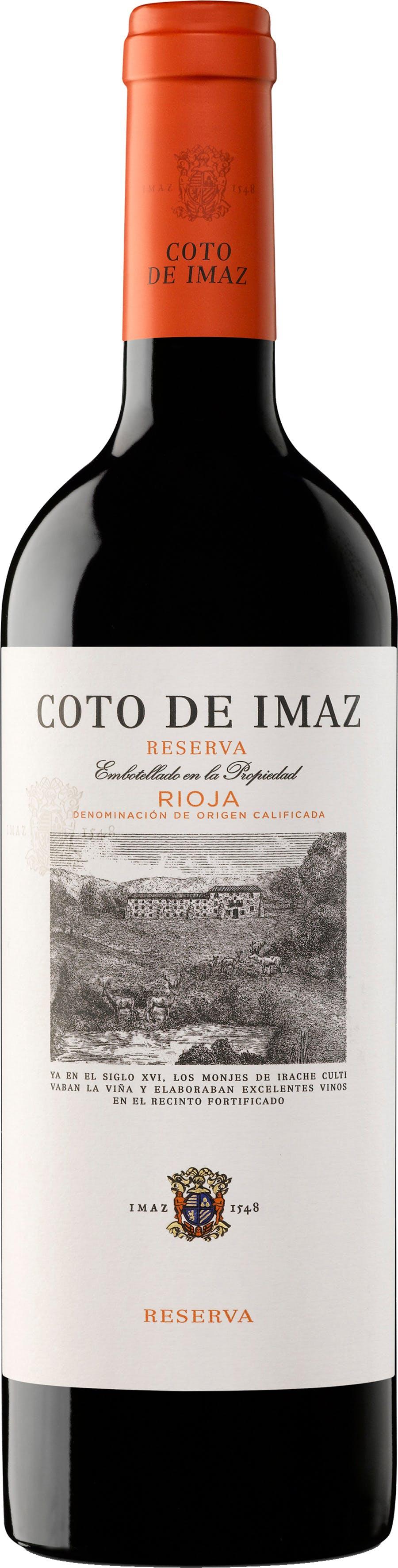 El Coto De Rioja Coto De Imaz Reserva 2015 Buster S Liquors Wines