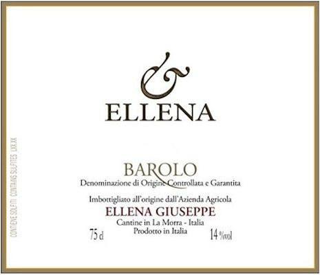 Ellena Giuseppe Barolo 2016
