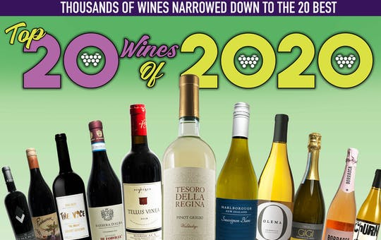 Top 20 Wines of 2020 and Our Holiday Gift Guide!